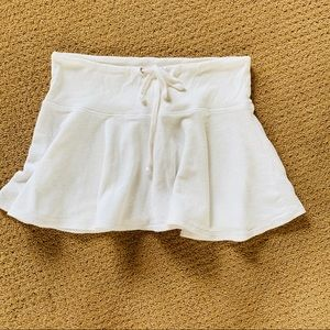 Juicy Couture White Swimsuit cover up Skirt Large